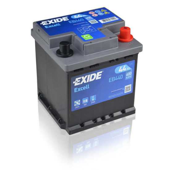 Picture of Акумулатор Exide Excell 44Ah 400A