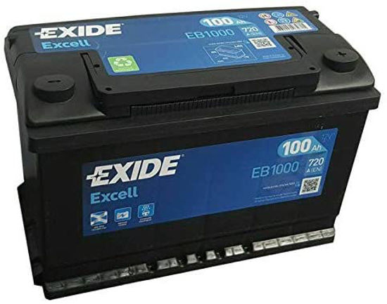 Picture of Акумулатор Exide Excell 100Ah 720A