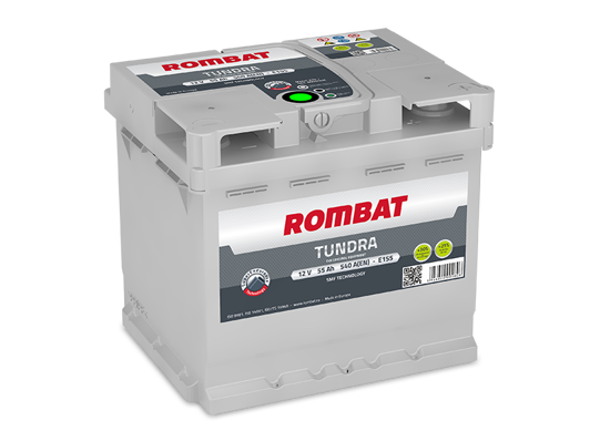 Picture of Акумулатор Rombat Tundra 55Ah 540A
