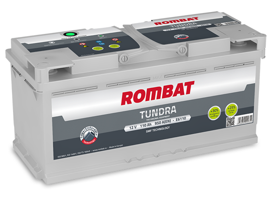 Picture of Акумулатор Rombat Tundra 110Ah 950A