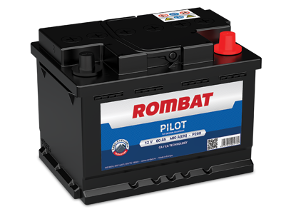 Picture of Акумулатор Rombat Pilot 60Ah 480A