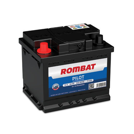 Picture of Акумулатор Rombat Pilot 45Ah 340A Л+