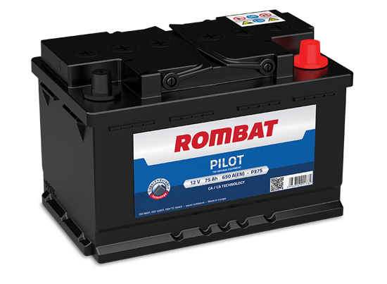 Picture of Акумулатор Rombat Pilot 75Ah 650A
