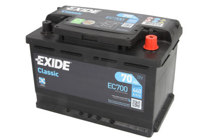 Picture of Акумулатор Exide Classic 70Ah 680A
