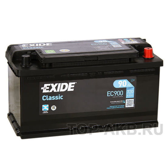 Picture of Акумулатор Exide Classic 90Ah 720A