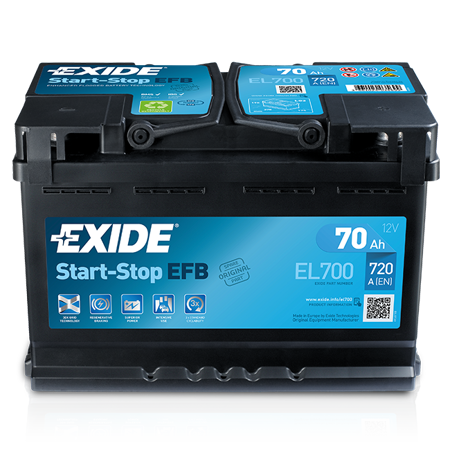 Picture for category Exide Start-Stop / EFB