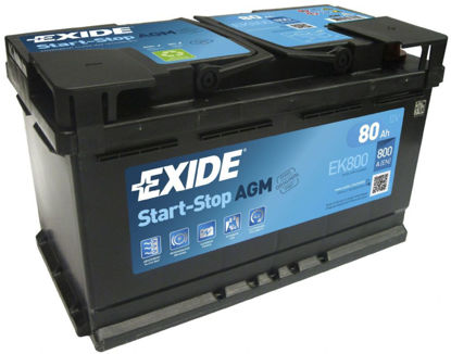 Picture of Акумулатор Exide AGM Start-Stop 80Ah 800A