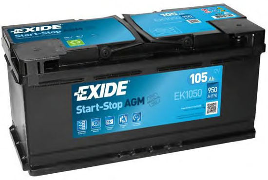 Picture of Акумулатор Exide AGM Start-Stop 105Ah 950A