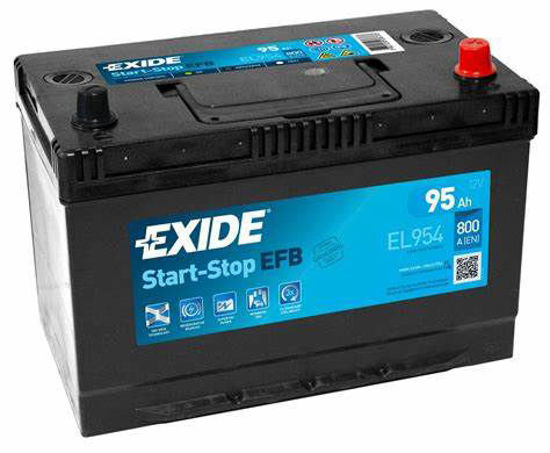 Picture of Акумулатор Exide Start-Stop EFB 95Ah 800A