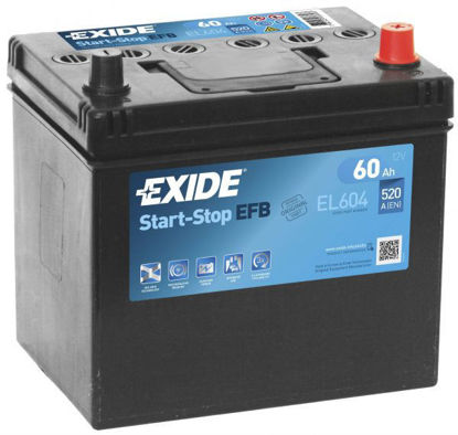 Picture of Акумулатор Exide Start-Stop EFB 60Ah 520A