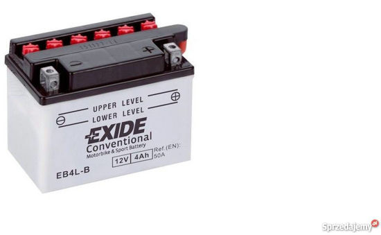 Picture of Акумулатор Exide Moto Conventional 4Ah 60A