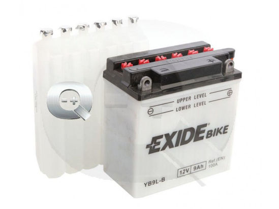 Picture of Акумулатор Exide Moto Conventional 9Ah 130A Л+