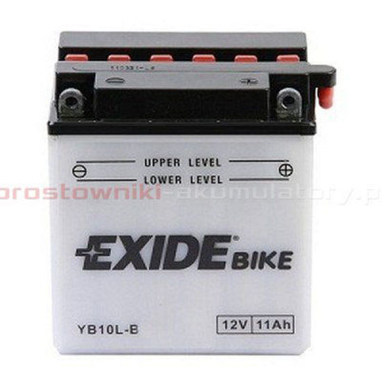 Picture of Акумулатор Exide Moto Conventional 11Ah 160A