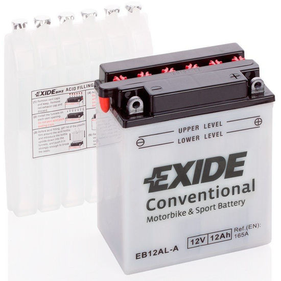 Picture of Акумулатор Exide Moto Conventional 12Ah 170A