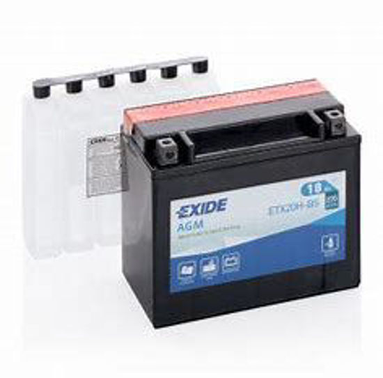 Picture of Акумулатор Exide Moto AGM 18Ah 240A Л+