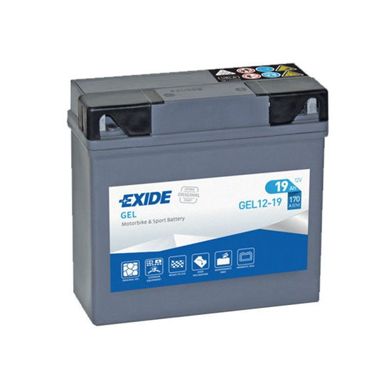 Picture of Акумулатор Exide Moto GEL 19Ah 170A