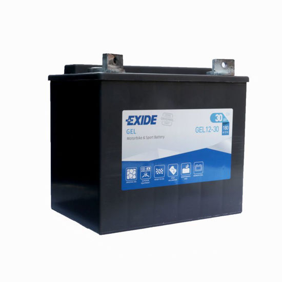 Picture of Акумулатор Exide Moto GEL 30Ah 180A Л+