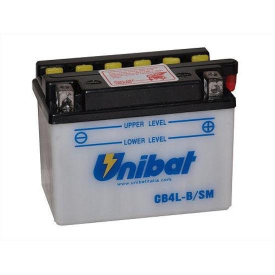 Picture of Акумулатор Unibat Moto 4Ah (со одржување)