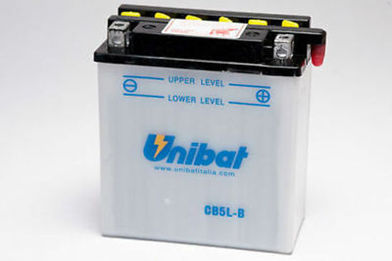 Picture of Акумулатор Unibat Moto 5Ah
