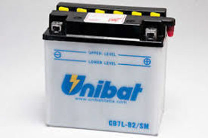 Picture of Акумулатор Unibat Moto 8Ah (со одржување)
