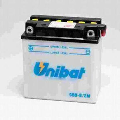 Picture of Акумулатор Unibat Moto 9Ah (со одржување)
