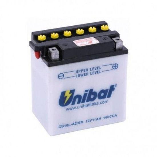 Picture of Акумулатор Unibat Moto 11Ah (со одржување)