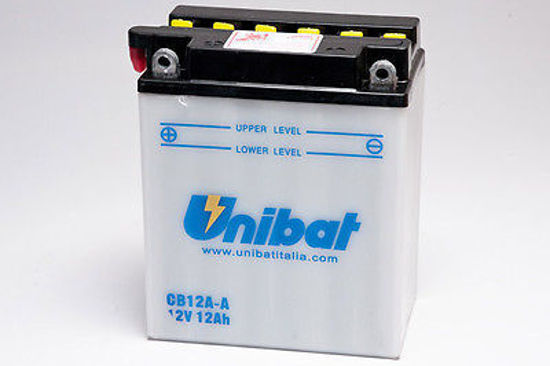 Picture of Акумулатор Unibat Moto 12Ah Л+ (со одржување)