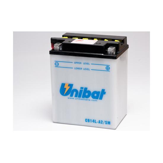 Picture of Акумулатор Unibat Moto 14Ah (со одржување)