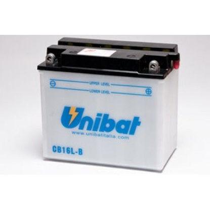 Picture of Акумулатор Unibat Moto 19Ah (со одржување)