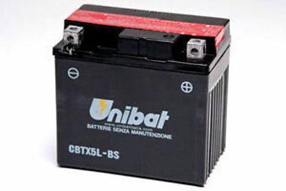 Picture of Акумулатор Unibat Moto 4Ah (без одржување)