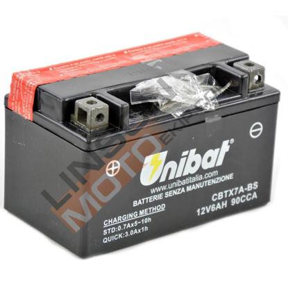 Picture of Акумулатор Unibat Moto 6Ah Л+ (без одржување)