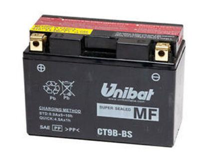 Picture of Акумулатор Unibat Moto 8Ah (без одржување) (тесен)