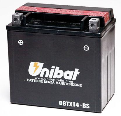 Picture of Акумулатор Unibat Moto 12Ah (без одржување)
