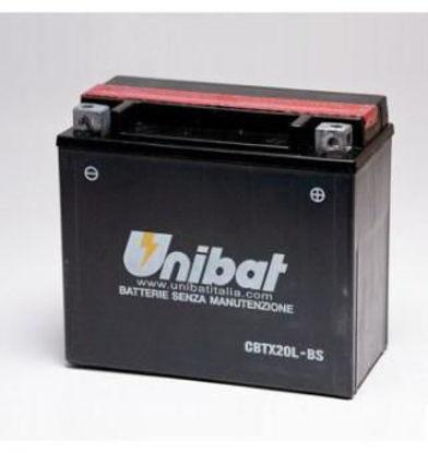 Picture of Акумулатор Unibat Moto 18Ah (без одржување)