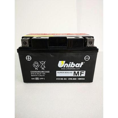 Picture of Акумулатор Unibat Moto 8.6Ah (без одржување) (со поголема стартна моќ) Л+