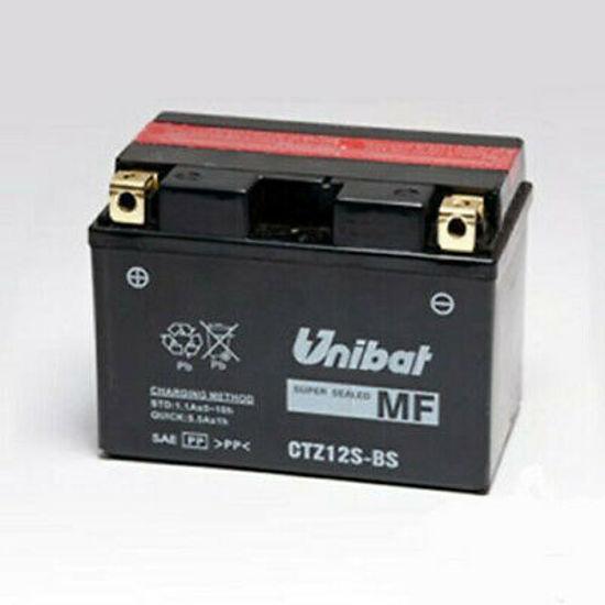 Picture of Акумулатор Unibat Moto 11Ah (без одржување) (со поголема стартна моќ)