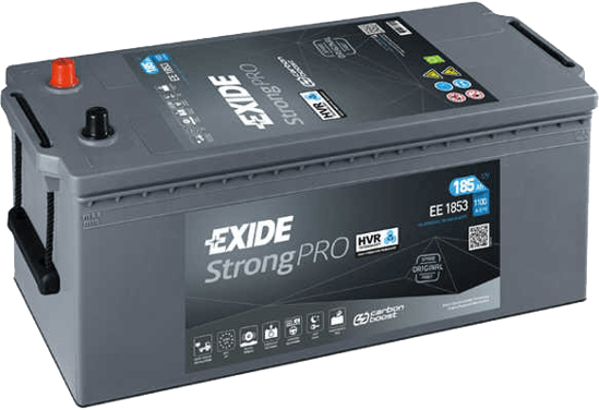 Picture of Акумулатор Exide Strong Pro Carbon Euro 6 185Ah 1100A