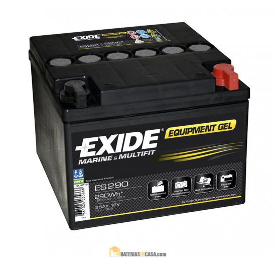 Picture of Акумулатор Exide GEL 26Ah 290Wh