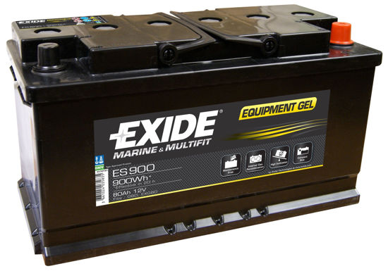 Picture of Акумулатор Exide GEL 80Ah 900Wh