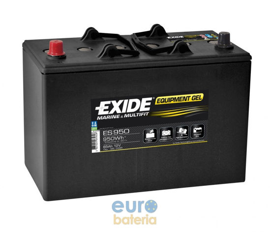 Picture of Акумулатор Exide GEL 85Ah 950Wh Л+