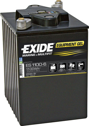 Picture of Акумулатор Exide GEL 200Ah 1100Wh 6V