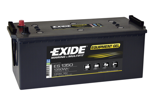 Picture of Акумулатор Exide GEL 120Ah 1350Wh Л+