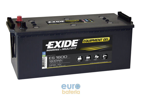 Picture of Акумулатор Exide GEL 140Ah 1600Wh Л+