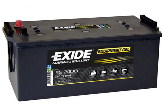 Picture of Акумулатор Exide GEL 210Ah 2400Wh Л+