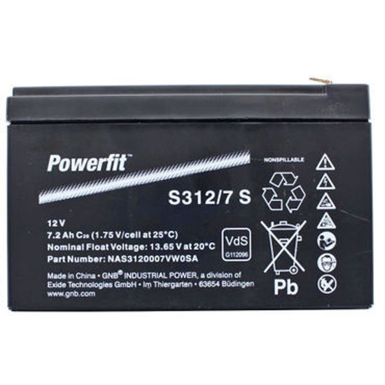 Picture of Акумулатор Exide PowerFit 7Ah