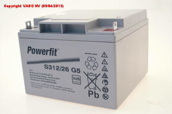 Picture of Акумулатор Exide PowerFit 26Ah
