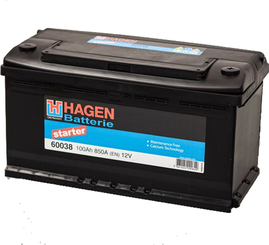 Picture of Акумулатор Hagen 100Ah 850A