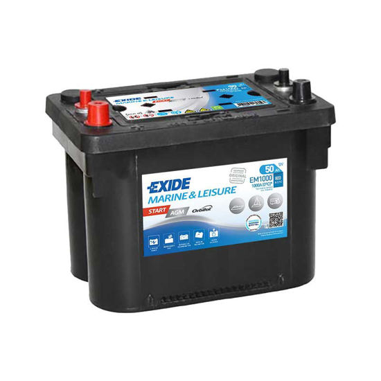 Picture of Акумулатор Exide AGM SPIRALL 50Ah 800A
