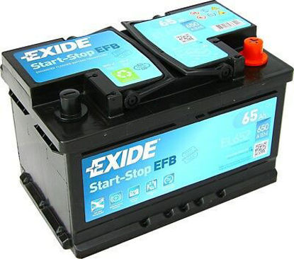 Picture of Акумулатор Exide Start-Stop EFB 65Ah 650A
