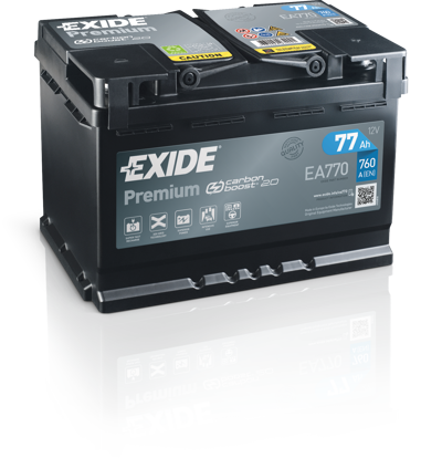 Picture of Акумулатор Exide Premium Carbon 2.0 77Ah 760A